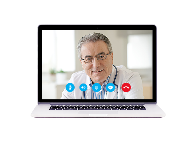 Теперь возможна онлайн-консультация врача